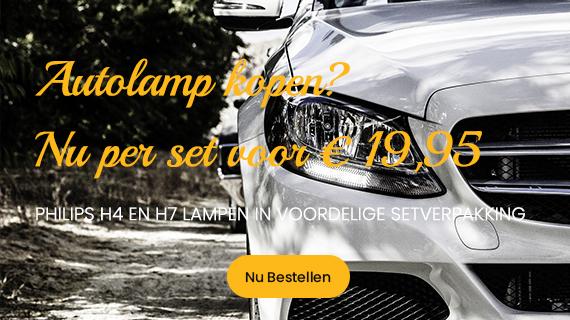 Philips Autolampen aanbieding set