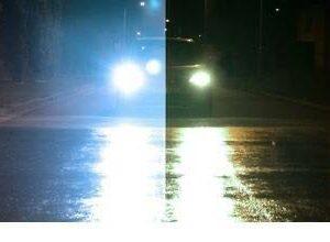 Voorbeeld night vision nachtbril